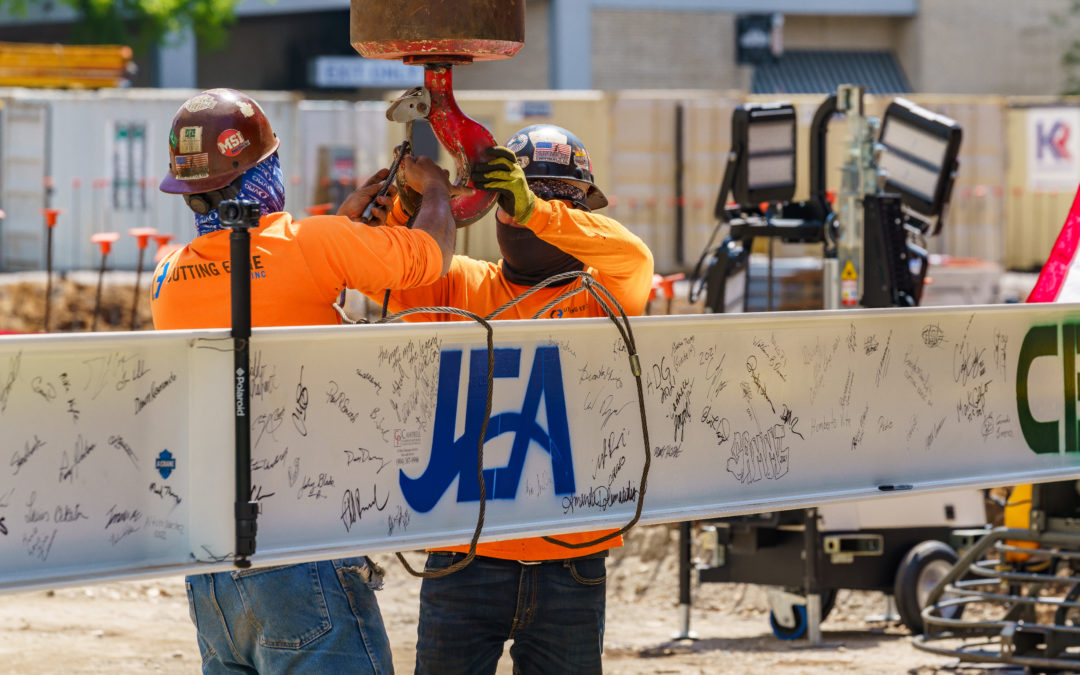 Ryan Companies Celebrates Topping Out at JEA Headquarters